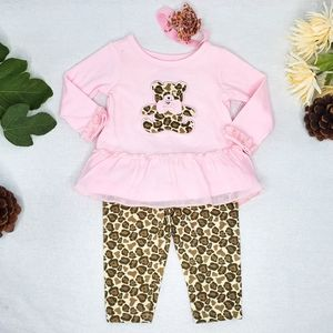 Swiggles • Leopard Teddy Outfit